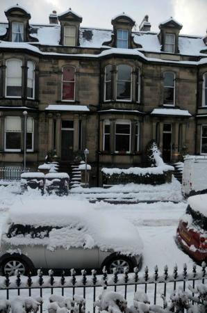 Merchiston Residence: SNow in December