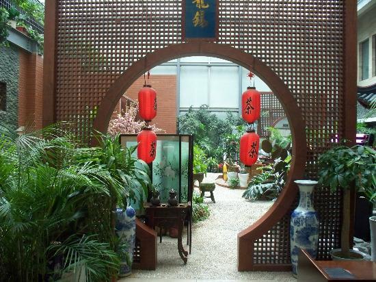 Kang Ming Hotel: Beautiful Tea Garden