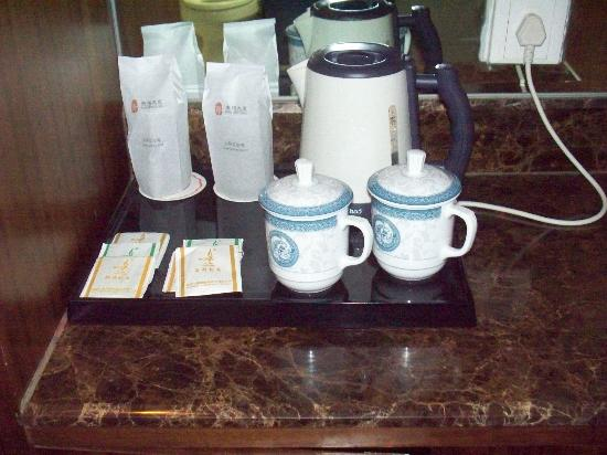 Kang Ming Hotel: In room tea service