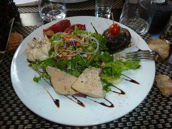 Restaurant Le QG: Belle assiette pour une entrée!!