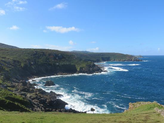 Little Leaf Guest House: The view on our Coastal Walk, Zennor to St Ives