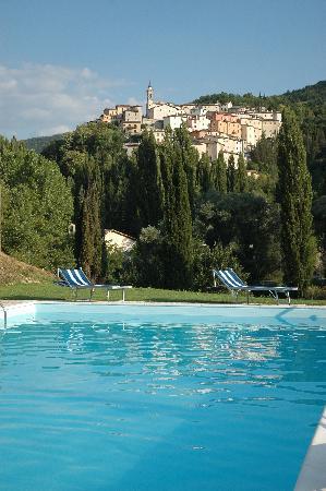 Villa Castoriana: PISCINA