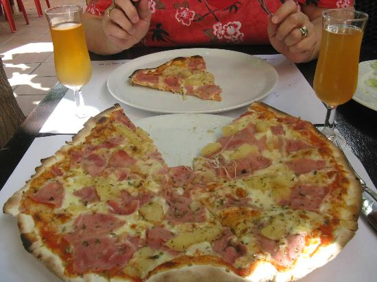 Pizzeria Don Carlo: tropical pizza