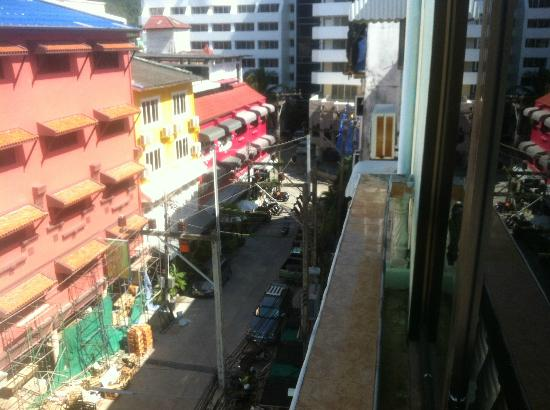 Lamai Hotel: balcony view