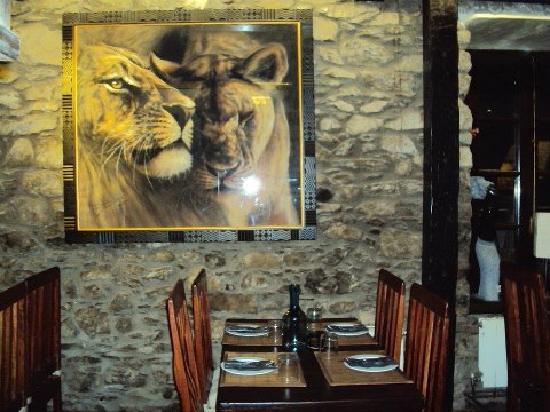 Pinotage Restaurante and Cafe : Restaurante