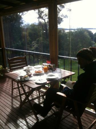 Denmark Waters : Beautiful breakfast on the balcony