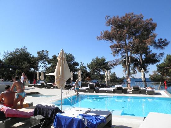 Hotel Laguna Parentium: pool area