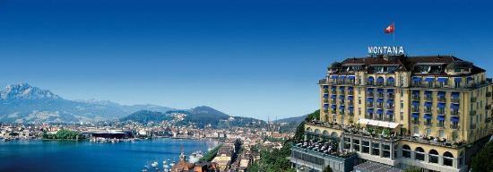 Art Deco Hotel Montana Luzern : ART DECO HOTEL MONTANA