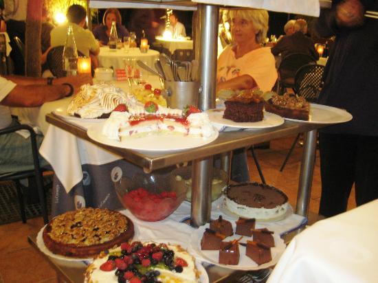 LA CUCANYA SITGES: десерт