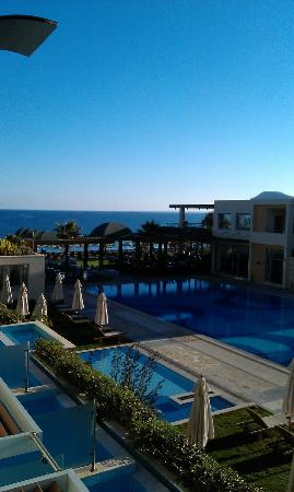 Minoa Palace Resort & Spa: View from the room