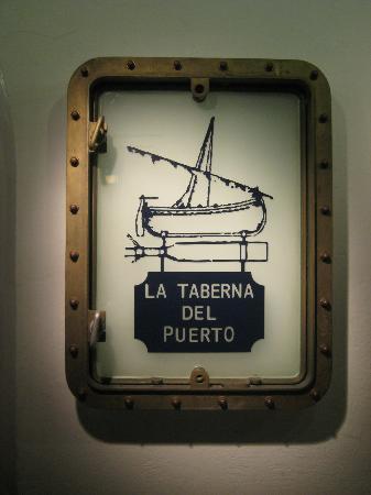 La Taberna del Puerto: оформление