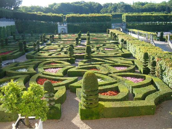 Βιλαντρί, Γαλλία: The Ornamental Garden at Villandry