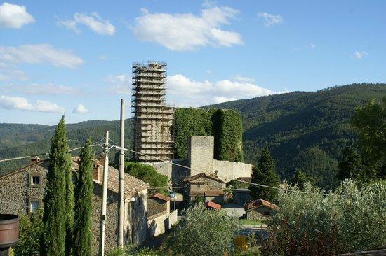 Agriturismo Rocca di Pierle : Uitzicht vanaf ons balkon