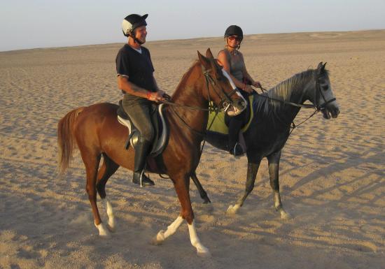 Horse Riding Hurghada: Alan and I
