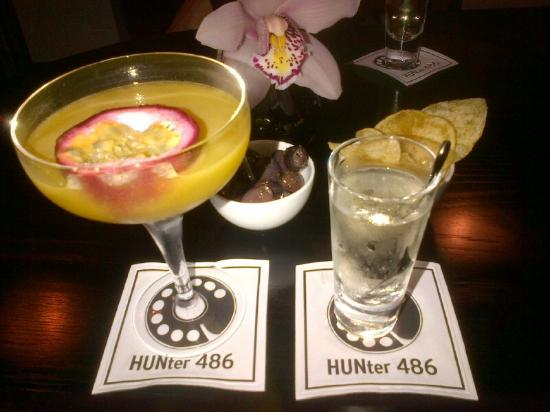 The Arch London: Hoochie Martini with a Prosecco Chaser