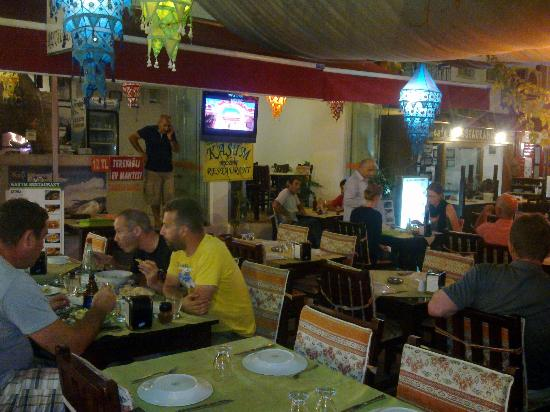Kasim Restaurant: dinner tıme at the kasım restaurant