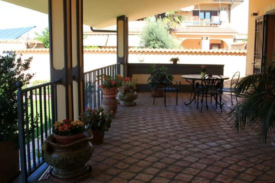 Villa Rosita: Terrazza