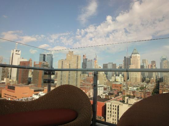 Kimpton Ink48 Hotel: NY skyline