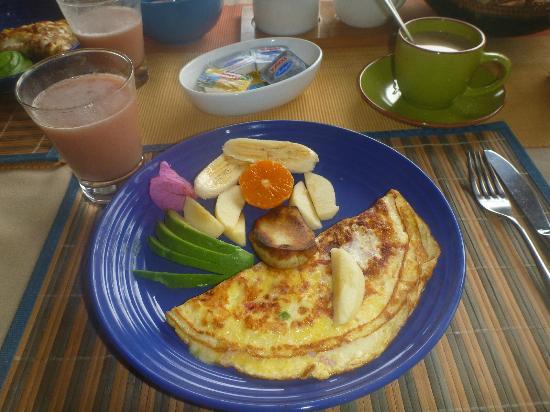 Taura'a Hotel: El delicioso desayuno