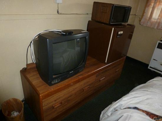 Travelers Inn: La tele apenas cogía canales