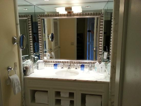 Bathroom Picture Of The RitzCarlton Naples Naples TripAdvisor - Bathroom fixtures naples fl