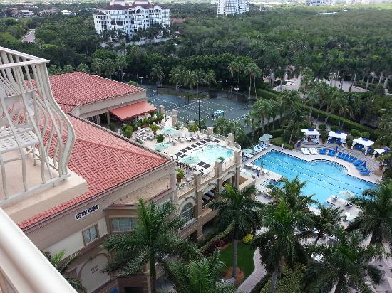 The Ritz-Carlton, Naples: View of pool from my room