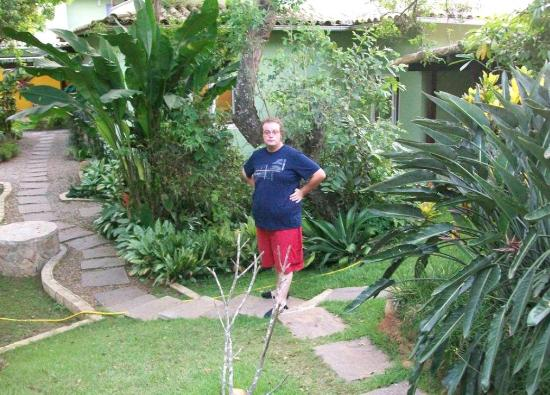 Pousada Aguas Claras Buzios: jardin interior