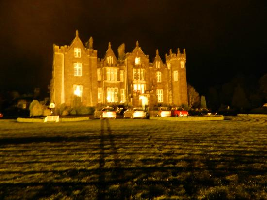 Kinnitty Castle Hotel: I Had To Step Outside For A Night Time Photo!