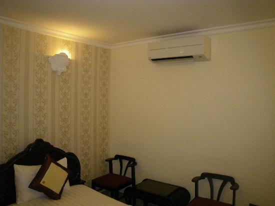 Hoang Lien Hotel: エアコンの効きは十分です