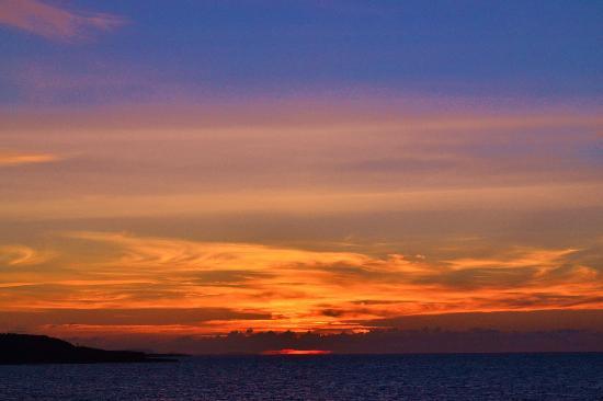 Paradisus Rio de Oro Resort & Spa: Sunset 