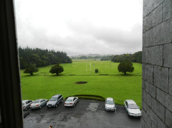 Kinnitty Castle Hotel: View From Our Room Window