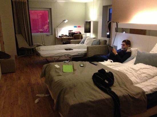 Scandic Haugesund: our room