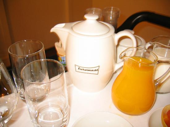 Euromast: Ontbijt op de kamer