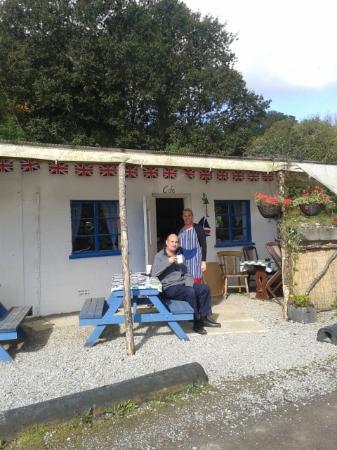 The Cuddy Shack cafe, Boating World, Landrake
