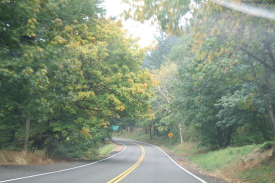 Columbia River Gorge: Historic route 30