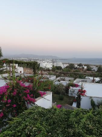 Kavos Boutique Hotel Naxos: View from villa roof deck