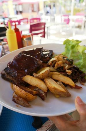 Enjoy Diner Soustons Beach: Ribs