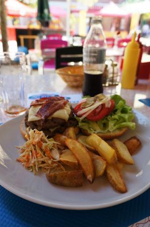 Enjoy Diner Soustons Beach: Hamburger