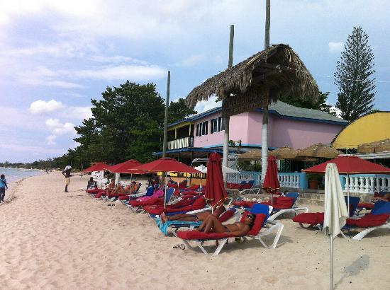 Seven Mile Beach: Seven mile
