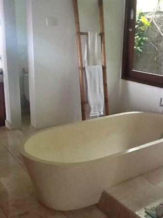 Munduk Moding Plantation: Our bath tub