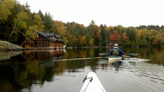 Kiwassa Lake Bed & Breakfast: kayaking nearby