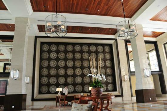 The Danna Langkawi: the Reception area