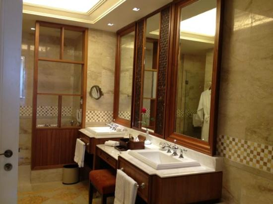 The Danna Langkawi: the bathroom