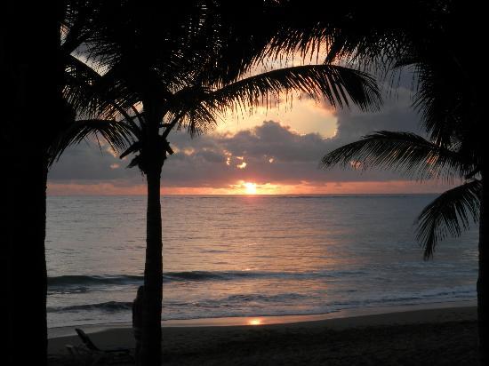 Viva Wyndham Tangerine : Sonnenaufgang