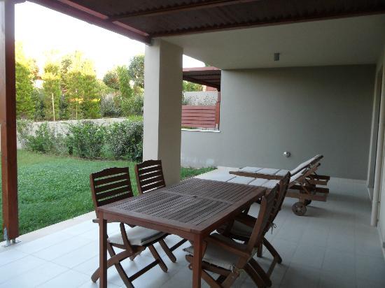 Apollonion Resort & Spa Hotel: Terrace