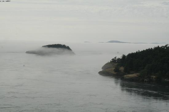 Deception Pass State Park: view from the bridge