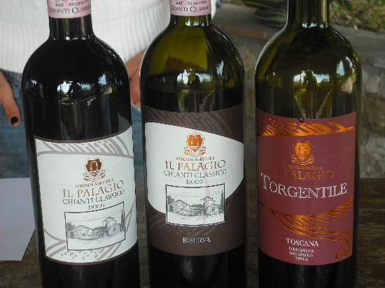 Tuscan Tour Time: Their wine