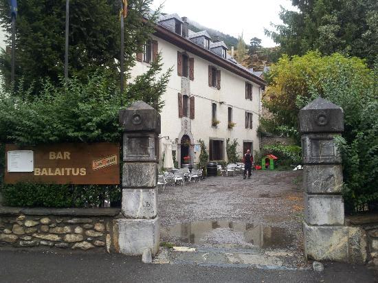 Hotel Balaitus : Front entrance