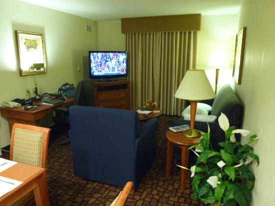 Homewood Suites by Hilton Edgewater - NYC Area: living van hotel