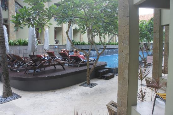 All Seasons Legian Bali: pool view from room 101